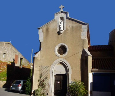 Caves, Eglise Sainte Germaine