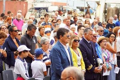 15 Août 2017, Port-La-Nouvelle, 3-Messe à la Criée