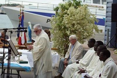 15 Août 2017, Port-La-Nouvelle, 2-Messe à la Criée